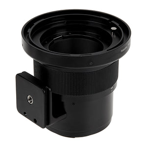 Fotodiox Pro Lens Mount Adapter - Mamiya RB67/RZ67 Mount Lens to Nikon Z-Mount Mirrorless Camera Body with Built-In Focusing Helicoid