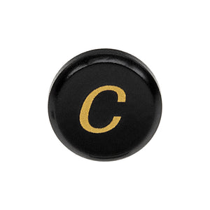 Fotodiox Soft Shutter Release Button - Anodized Aluminum 12mm Concave Button for Contax & Canon Cameras (Black & Yellow)