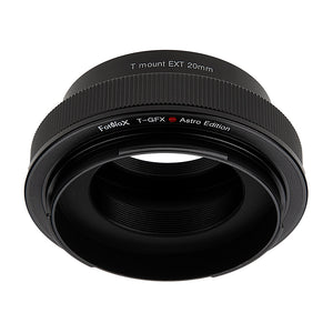 Fotodiox Lens Adapter Astro Edition - Compatible with T-Mount (T / T-2) Screw Mount Telescopes to Fujifilm G-Mount Digital Cameras for Astronomy