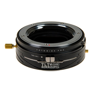 Fotodiox Pro TLT ROKR - Tilt / Shift Lens Mount Adapter for Minolta Rokkor (SR / MD / MC) SLR Lenses to Fujifilm Fuji X-Series Mirrorless Camera Body