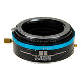 Fotodiox Pro TLT ROKR - Tilt / Shift Lens Mount Adapter for Nikon Nikkor F Mount G-Type D/SLR Lenses to Sony Alpha E-Mount Mirrorless Camera Body