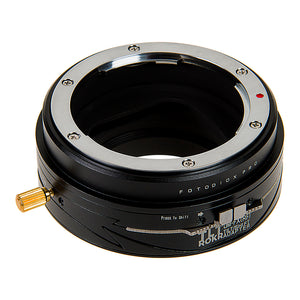 Fotodiox Pro TLT ROKR - Tilt / Shift Lens Mount Adapter for Olympus Zuiko (OM) 35mm SLR Lenses to Fujifilm Fuji X-Series Mirrorless Camera Body