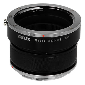 Vizelex Macro Focusing Helicoid - Canon EOS Lens to Canon EOS Body, Variable Magnification Helicoil