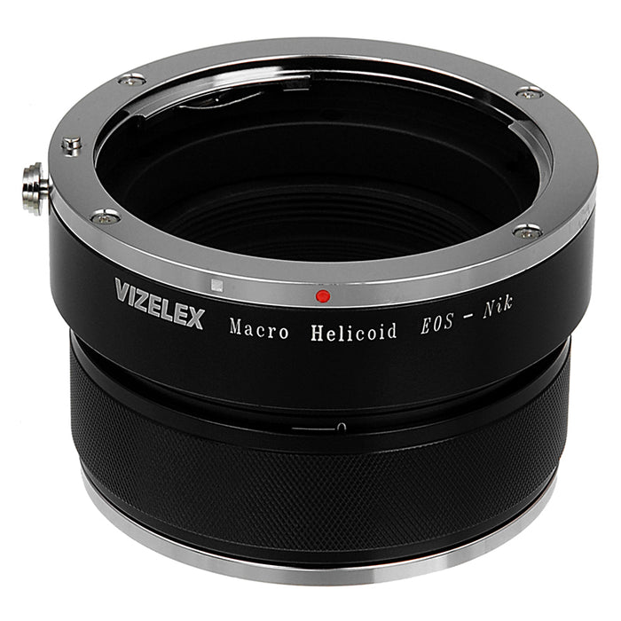 Vizelex Macro Focusing Helicoid - Canon EOS Lens to Nikon Body, Variable Magnification Helicoil
