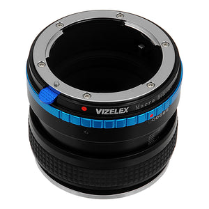 Vizelex Variable Magnification Helicoil Adapter Compatible with Nikon F-Mount G-Type Lenses to Nikon F-Mount Cameras