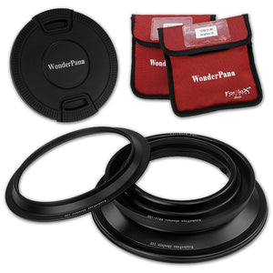 WonderPana Filter Holder for Various 14mm Full Frames (such as Rokinon, Samyang and Bower) - Ultra Wide Angle Lens Filter Adapter