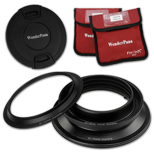 WonderPana Filter Holder for Tokina 16-28mm f/2.8 AT-X Pro FX Lens (Full Frame 35mm) - Ultra Wide Angle Lens Filter Adapter