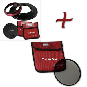 WonderPana Filter Holder for Olympus 7-14mm f/2.8 M.ZUIKO Digital ED PRO Lens (Micro-4/3 Format) - Ultra Wide Angle Lens Filter Adapter