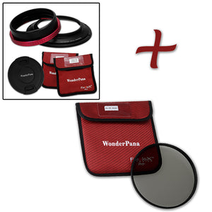 WonderPana Filter Holder for Nikon 14-24mm AF-S Zoom Nikkor f/2.8G ED AF Lens (Full Frame 35mm) - Ultra Wide Angle Lens Filter Adapter