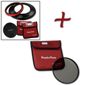 WonderPana Filter Holder for Sigma 12-24mm f/4.5-5.6 EX DG IF HSM Aspherical Ultra Wide Angle Zoom Lens (Full Frame 35mm) - Ultra Wide Angle Lens Filter Adapter