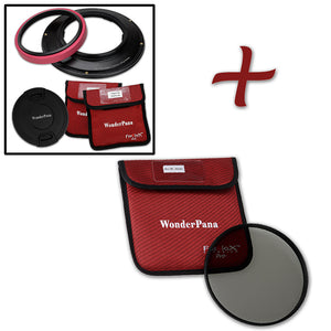 WonderPana Filter Holder for Sony FE 12-24mm f/4 G Lens (Full Frame 35mm) - Ultra Wide Angle Lens Filter Adapter