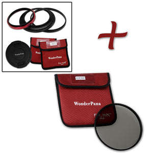 WonderPana Filter Holder for Zeiss Distagon T* 15mm f/2.8 ZF.2 Lens - Ultra Wide Angle Lens Filter Adapter
