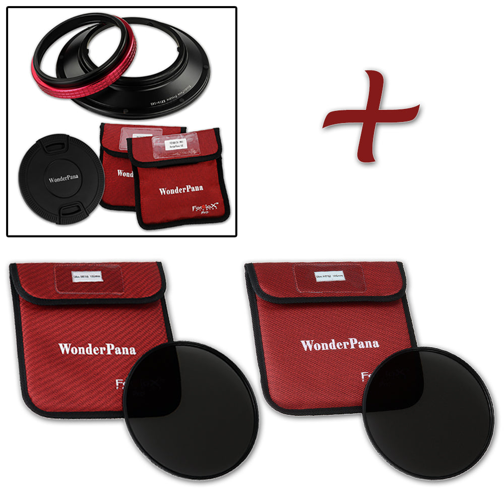 WonderPana Classic 145mm ND16 and ND32 Kit Compatible with Sigma 14mm f//2.8 EX HSM RF Aspherical Ultra Wide Angle Lens