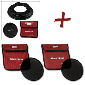 WonderPana Filter Holder for Sigma 8-16mm f/4.5-5.6 DC HSM Ultra-Wide Zoom Lens (APS-C 35mm) - Ultra Wide Angle Lens Filter Adapter