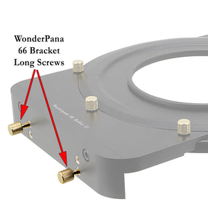 WonderPana FreeArc 66 OEM Long Screws (Set of 4), Used to Tighten the Grip on the 66 Filters While in the Holder - Replacement Part for WonderPana FreeArc Filter Holders (SKUs starting with 'WPFA-***')