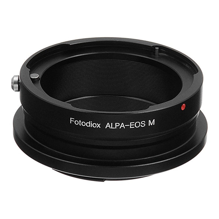 Fotodiox Lens Mount Adapter - Alpa 35mm SLR Lens to Canon EOS M (EF-M Mount) Mirrorless Camera Body