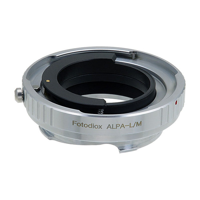 Fotodiox Pro Lens Adapter - Compatible with Alpa 35mm SLR Lenses to Leica M Mount Rangefinder Cameras