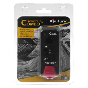 Aputure Remote Combo - Infrared and Cordless Remote Camera Trigger