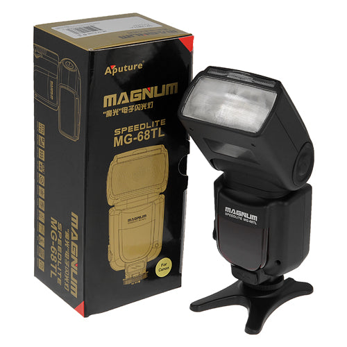 Aputure e-TTL Flash Magnum MG-68TL Speedlite, for Canon EOS Cameras, Replacing SB-430EX II