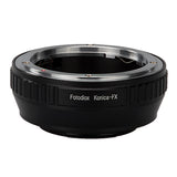 Fotodiox Lens Mount Adapter - Konica Auto-Reflex (AR) SLR Lens to Fujifilm Fuji X-Series Mirrorless Camera Body