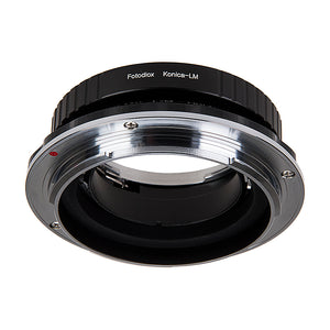 Fotodiox Pro Lens Mount Double Adapter, Konica Auto-Reflex (AR) SLR and Leica M Rangefinder Lenses to Hasselblad XCD Mount Mirrorless Digital Camera Systems (such as X1D-50c and more)