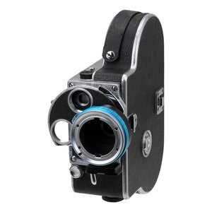 "Fotodiox Pro Lens Adapter - Compatible with Arri Bayonet (Arri-B) Mount SLR Lenses to C-Mount (1"" Screw Mount) Cine & CCTV Cameras"