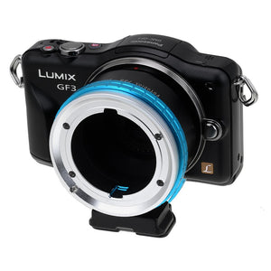 Fotodiox Pro Lens Mount Adapter - Arri Bayonet (Arri-B) Mount SLR Lens to Micro Four Thirds (MFT, M4/3) Mount Mirrorless Camera Body