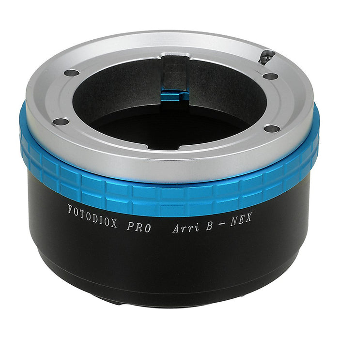 Fotodiox Pro Lens Mount Adapter - Arri Bayonet (Arri-B) Mount SLR Lens to Sony Alpha E-Mount Mirrorless Camera Body