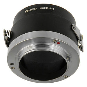 Fotodiox Lens Mount Adapter - Arri Standard (S-Mount) SLR Lens to Nikon 1-Series Mirrorless Camera Body
