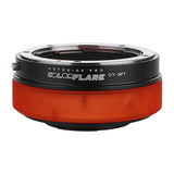 ArtFX ColorFlare Adapter for Contax/Yashica (CY) SLR Lens to Micro Four Thirds (MFT, M4/3) Mount Mirrorless Camera Body- Light Leak / Flare Inducing Adapter from Fotodiox Pro