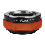 ArtFX ColorFlare Adapter for Minolta Rokkor (SR / MD / MC) SLR Lens to Sony Alpha E-Mount Mirrorless Camera Body - Light Leak / Flare Inducing Adapter from Fotodiox Pro