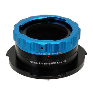 "B4 (2/3"") Lens SLR Lens to Sony CineAlta FZ-Mount Camera Adapter"