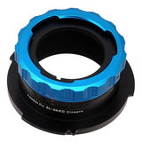 "Fotodiox Pro Lens Mount Adapter - B4 (2/3"") ENG Cine Lens to Sony CineAlta FZ-Mount Camera Bodies"