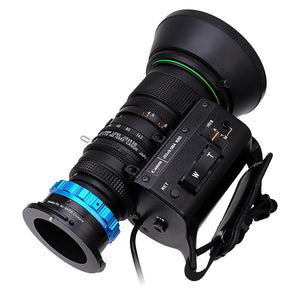 "Fotodiox Pro Lens Adapter - Compatible with B4 (2/3"") ENG Cine Lenses to Sony CineAlta FZ-Mount Cameras"