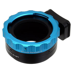 "Fotodiox Pro Lens Mount Adapter - B4 (2/3"") ENG Cine Lens to Micro Four Thirds (MFT, M4/3) Mount Mirrorless Camera Body"