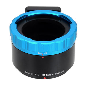 "Fotodiox Pro B4 Magic Adapter - B4 (2/3"") Lenses to Black Magic MFT Cinema Cameras"