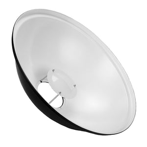 "Fotodiox Pro 22"" Beauty Dish with Bowens Speedring for Bowens, Calumet, Interfit and Compatible"
