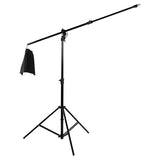"Fotodiox Pro Ultra Reflector Kit - 42"" 5-in-1 Collapsible Disc + 3-in-1 Heavy Duty Boom Stand"