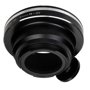 Fotodiox Pro Lens Mount Adapter Compatible with Bronica GS-1 (PG) Mount SLR Lenses to Canon EOS (EF, EF-S) Mount SLR Camera Body - with Generation v10 Focus Confirmation Chip