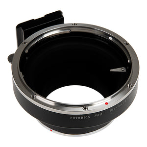 Fotodiox Pro Lens Mount Adapter - Bronica SQ Mount Lens to Canon EOS (EF, EF-S) Mount SLR Camera Body