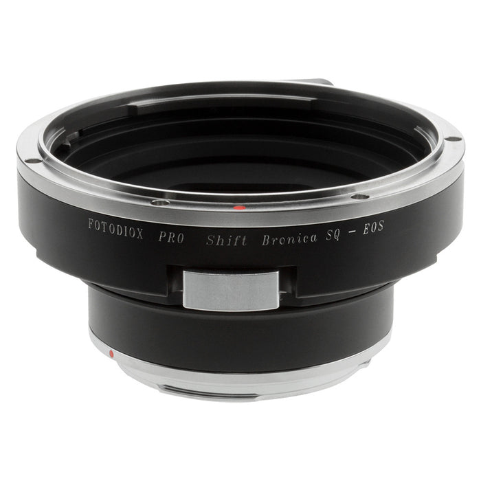 Fotodiox Pro Lens Mount Shift Adapter - Bronica SQ Mount Lens to Canon EOS (EF, EF-S) Mount SLR Camera Body