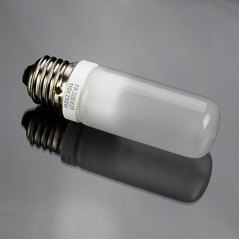 JDD Type 250w 120v E26 (Standard Edison Screw) Frosted Halogen Light Bulb