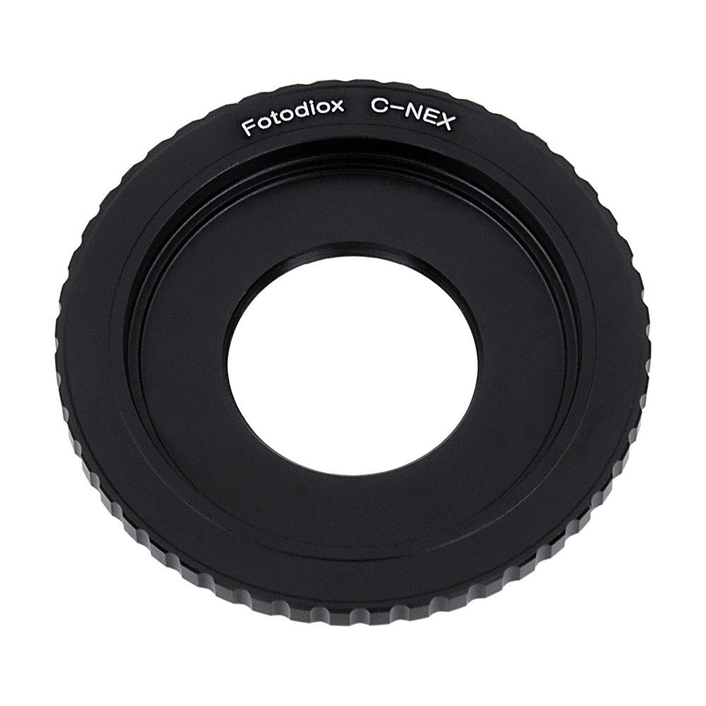 C-Mount Cine Lens to Sony Alpha E-Mount Camera Body Adapter
