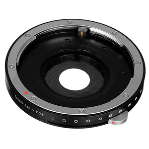Fotodiox Pro Lens Mount Shift Adapter - Contax 645 (C645) Mount Lenses to Sony Alpha E-Mount Mirrorless Camera Body
