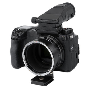 Fotodiox Pro Lens Mount Adapter, Contax 645 (C645) Mount Lens to Fujifilm G-Mount GFX Mirrorless Digital Camera Systems (such as GFX 50S and more)