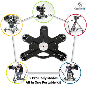 CamDolly Cinema Systems - The World's Most Flexible Camera Dolly and Slider System
