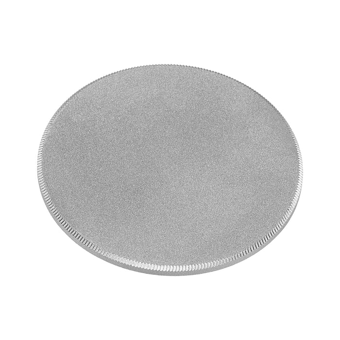 Fotodiox M42 Metal Camera Body Cap - Silver Protective Rear Cap for 42mm x1 Thread Screw Mount Camera Bodies