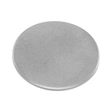 M42 Metal Camera Body Cap - Silver Protective Rear Cap