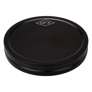 Fotodiox Pro Metal Rear Lens Cap for Fujifilm G-Mount GFX Lenses and Adapters, (Replaces Fujifilm RLCP-002 Rear Lens Cap)