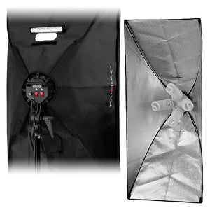 Fotodiox Pro CFL-50120 Compact Studio Continuous Fluorescent Softbox Lighting Kit for Film, Video and Photography